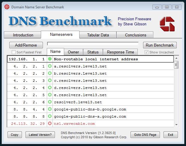 dns-benchmark