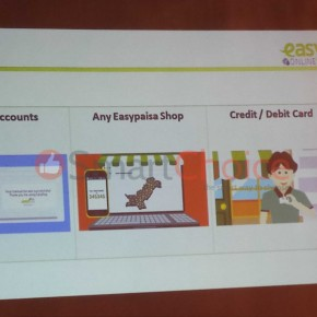 Online payment options with EasyPay