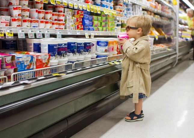 Comparison Shopping with kids