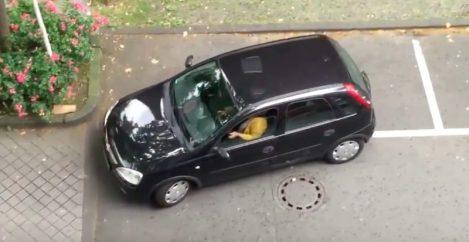 Mastering the parking Skills