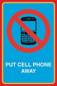 put the phone away